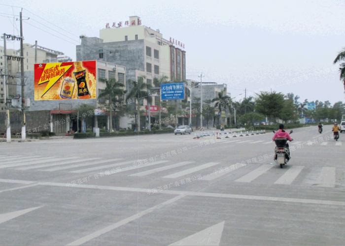 乐虎路墙广告(喷绘)