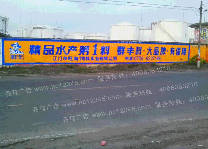 旺海路墙广告(手绘)